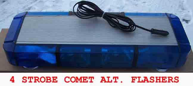 Whelen mini edge lightbars at dcaptain 4 strobe mini edge alternating flashers in front aloadofball Images