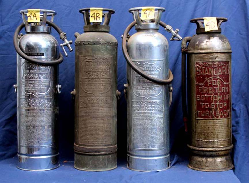 Vintage Antique Polished Fire Extinguishers At Dcaptain Com