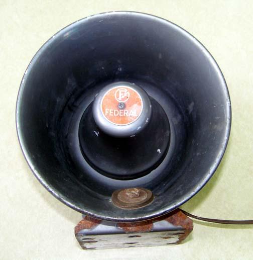Vintage Federal Signal Sirens At Dcaptain Com
