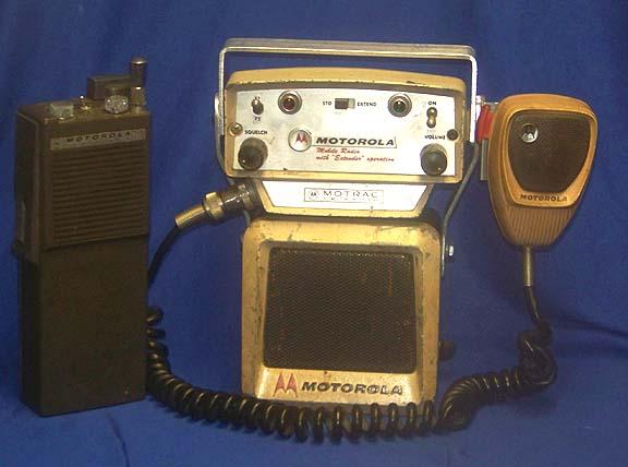 Old police radios